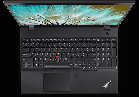 Lenovo ThinkPad P51s Overhead View Open