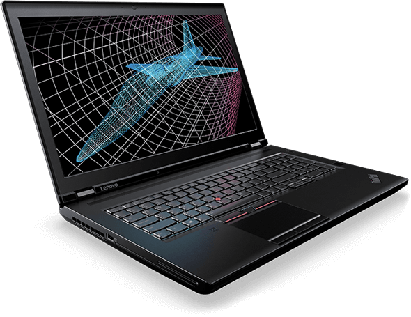 Lenovo ThinkPad P71 Front Left Side View