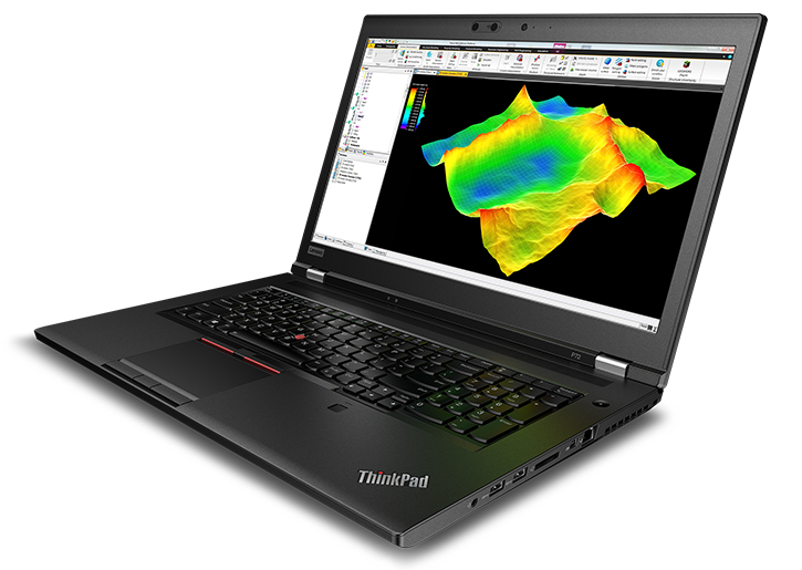 "The 17"" ThinkPad® P72 mobile workstation with high performance and powerful graphics"
