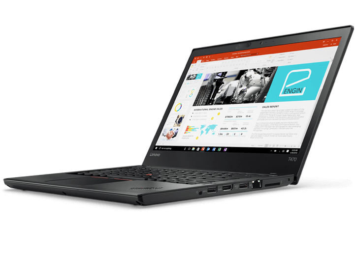 "Portable professionnel 14"" ThinkPad T470"
