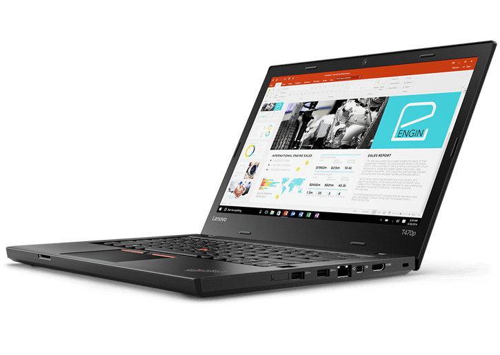 "ThinkPad T470p - 14"" Business Laptop"