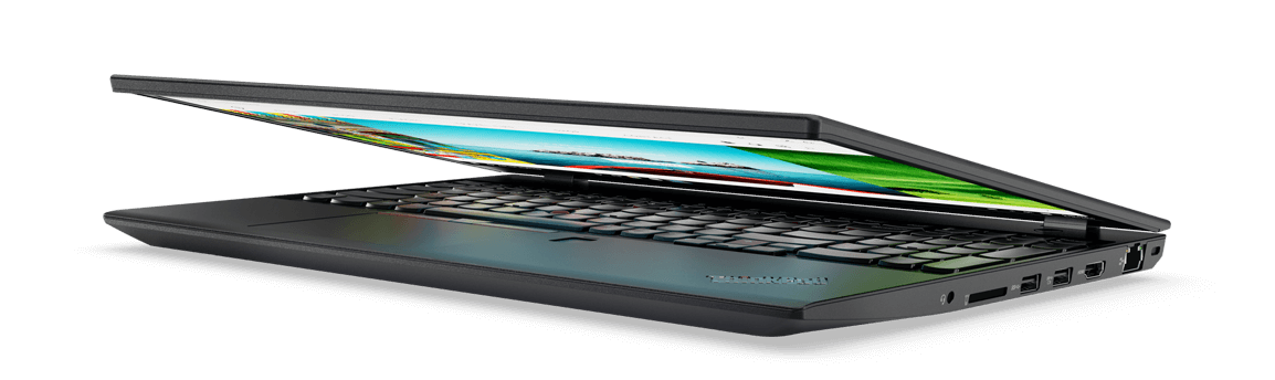 Lenovo ThinkPad T570 Front Right Side View Partially Open