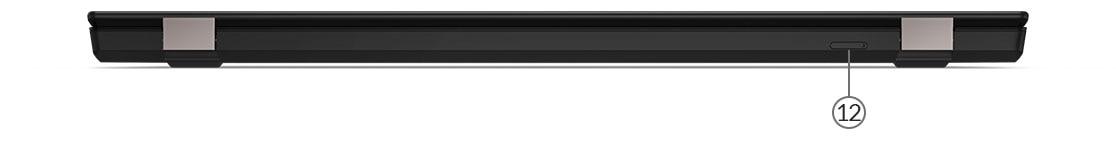 ThinkPad T590 — widok portów z tyłu