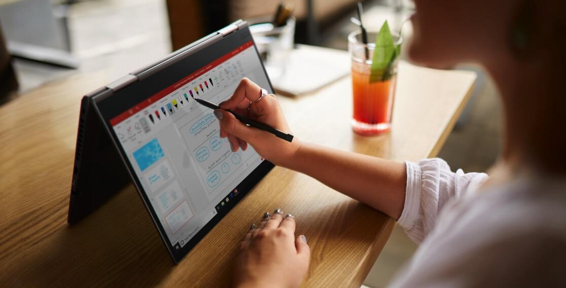 """Lenovo ThinkPad X1 Yoga (5th Gen) Touch Intel Core i7-10510U, 16GB DDR3, 512GB SSD, 14.0"""" FHD Multitouch, Win 10 Pro 64 - 20UB004SAD 11"""