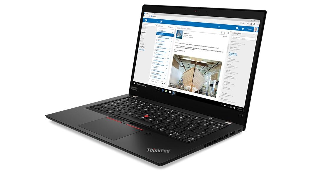 ThinkPad X13 GEN 1・斜めから