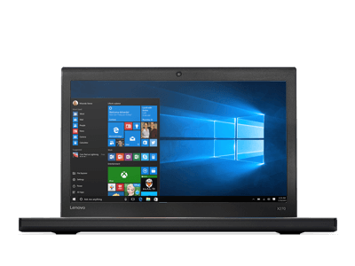 lenovo laptop thinkpad x270 front