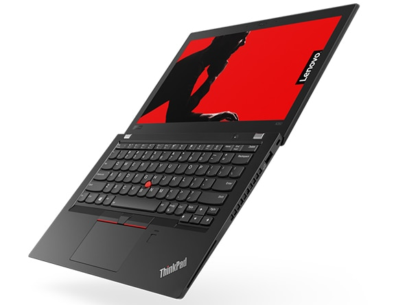Lenovo ThinkPad x280 Open 180 Degrees Left Side View
