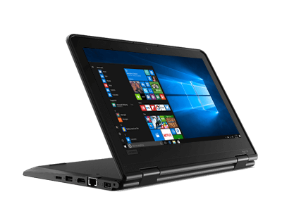 Lenovo ThinkPad Yoga 11e Windows convertible laptop for education.