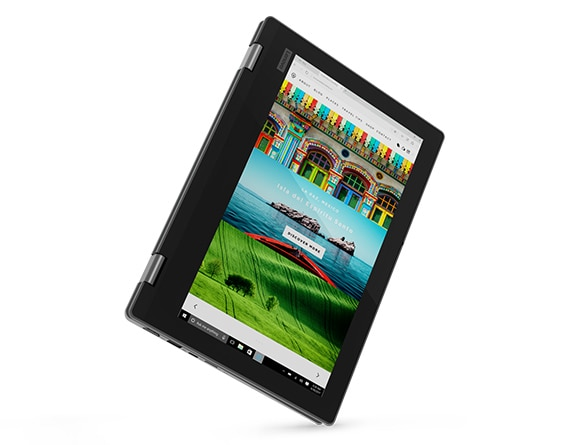 Lenovo Yoga 330 2-in-1 in tablet mode