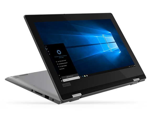 Lenovo Yoga 330 2-in-1 laptop in stand mode