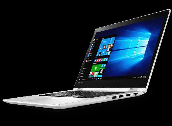 Windows 10 Home es estándar en la Yoga 510.