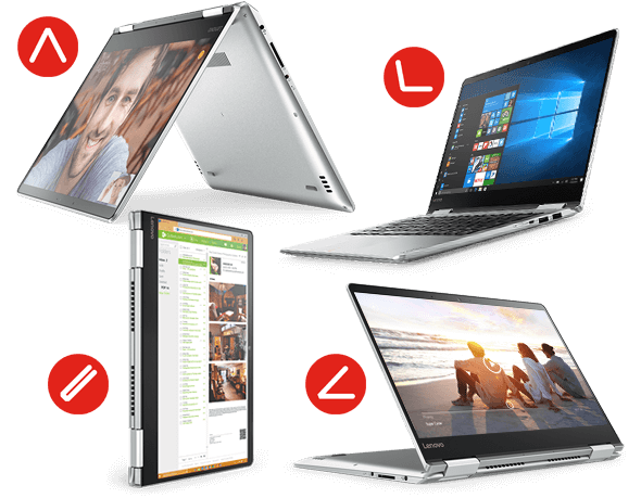 Laptop, Stand, Tent, or Tablet? The choice is yours.