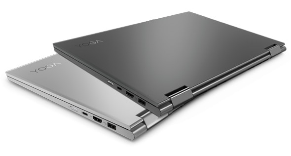 Lenovo Yoga 730 (15) in platinum and iron grey