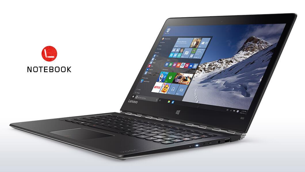 Lenovo Yoga 900 | Notebook 2 em 1 superfino e leve | Lenovo Brasil