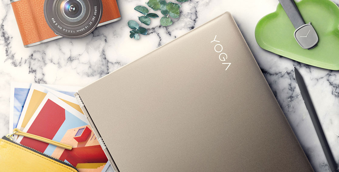 Lenovo Yoga 920 (13) with art supplies