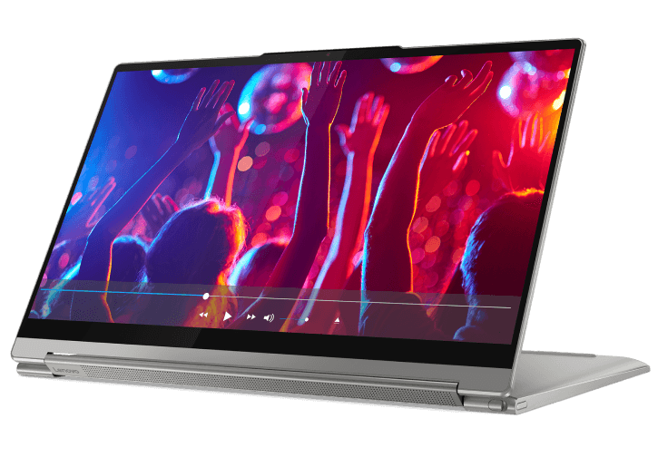 "Lenovo Yoga 9i (14"") in stand mode"