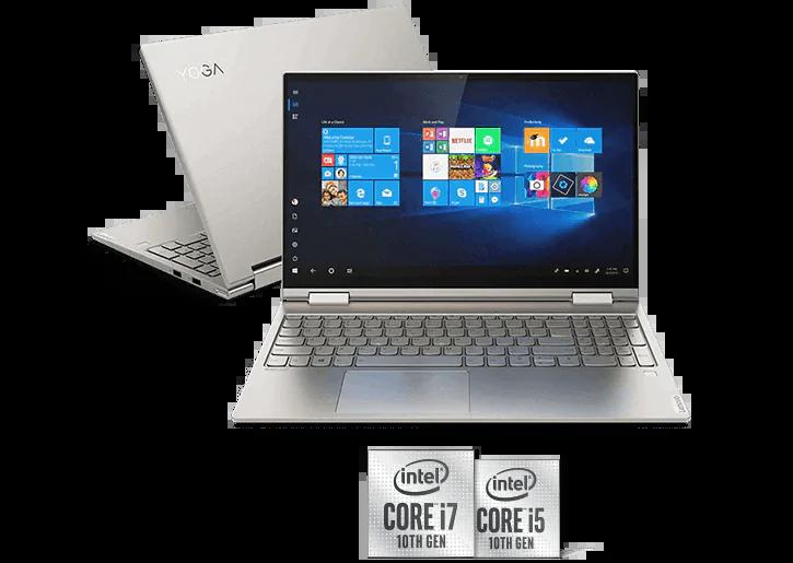 """Lenovo Yoga C740 15.6"""" FHD 2-in-1 Laptop (i5-10210U / 8GB / 256GB SSD)"""