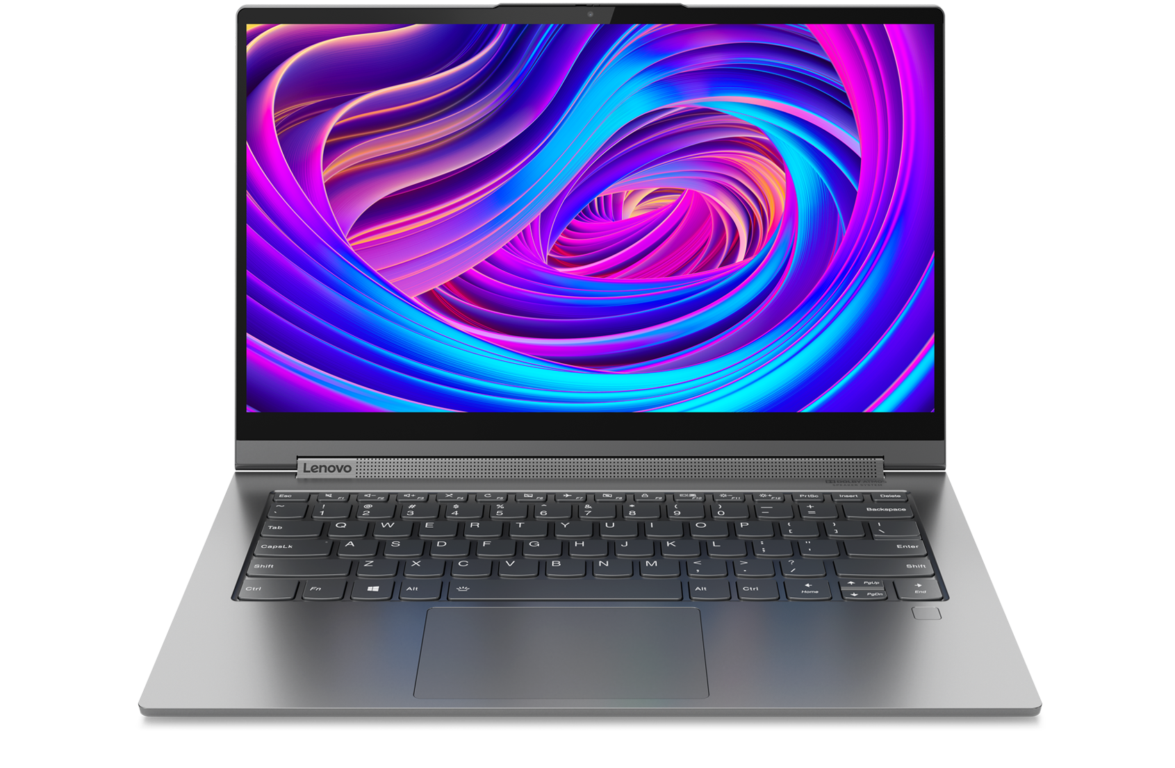 "Lenovo Yoga C940 (14"") 2-in-1 laptop, front view"