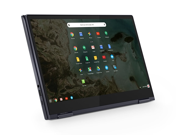 Lenovo Yoga Chromebook C630 in tablet mode