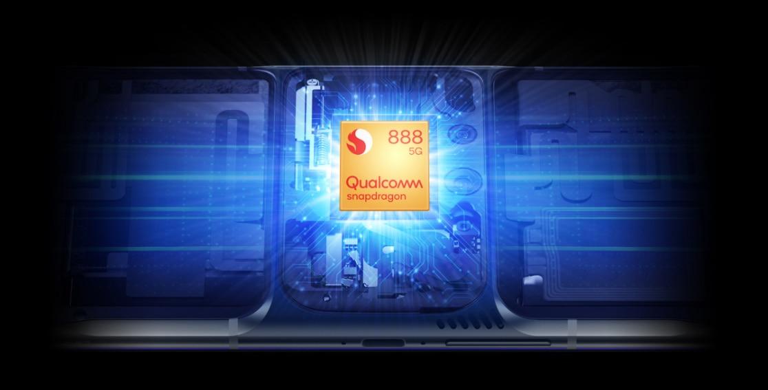 Image of Qualcomm Snapdragon 888 5G mobile platform processor
