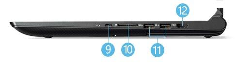Lenovo-Y520 右側面