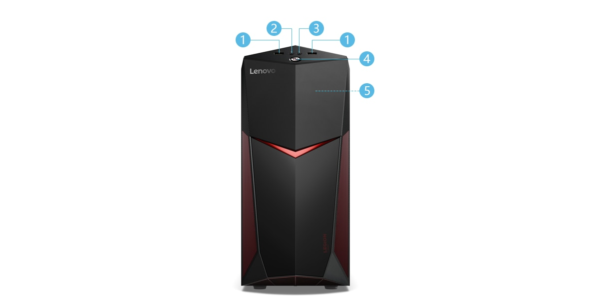 Lenovo Legion Y520 Tower 正面