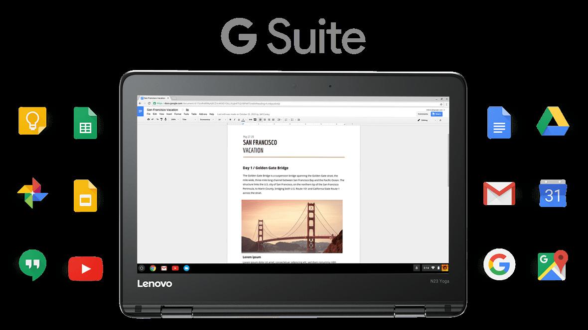 Lenovo N23 Yoga Chromebook Rugged 2 In 1 Chromebook For