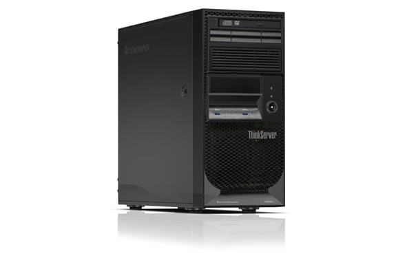Lenovo ThinkServer TS150 Right Side View