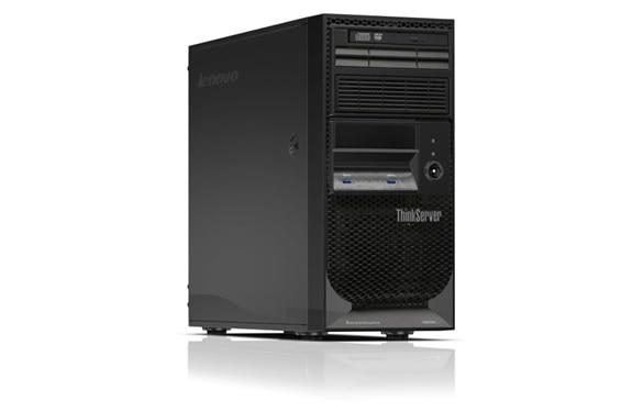 Lenovo ThinkServer TS150 Right Side View