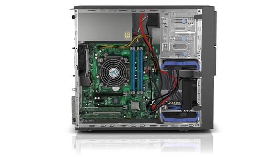 Lenovo ThinkServer TS150 Internal View