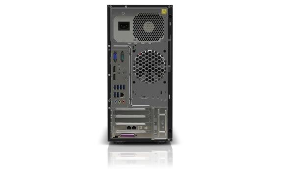 Lenovo ThinkServer TS150 Rear View
