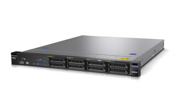 Lenovo Servers Rack System x3250 M6 Left Side View