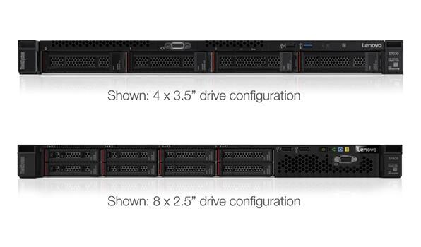 Lenovo ThinkSystem SR530 Drive Configuration