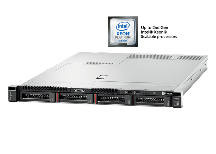 Lenovo ThinkSystem SR530 Rack Server