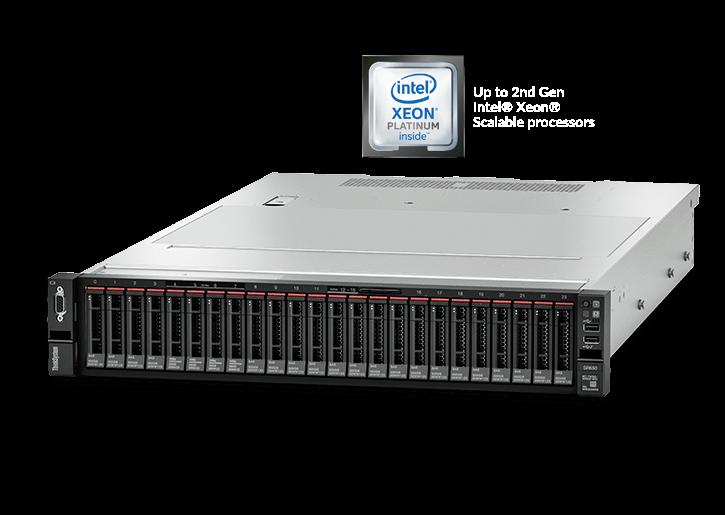Baie de serveur Lenovo ThinkSystem SR650