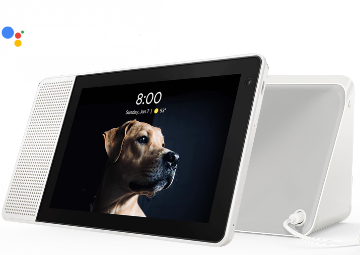Lenovo Smart Display (8) with the Google Assistant £179.99