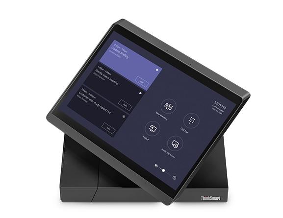 Top view of the ThinkSmart Hub 500