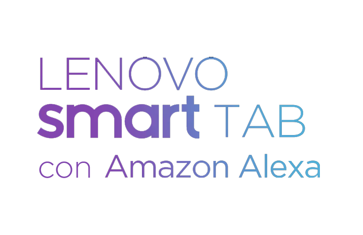 Lenovo Smart Tab con Amazon Alexa
