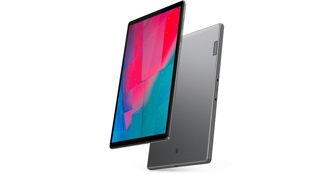 Lenovo Smart Tab M10 FHD Plus (2nd Gen) front and rear view
