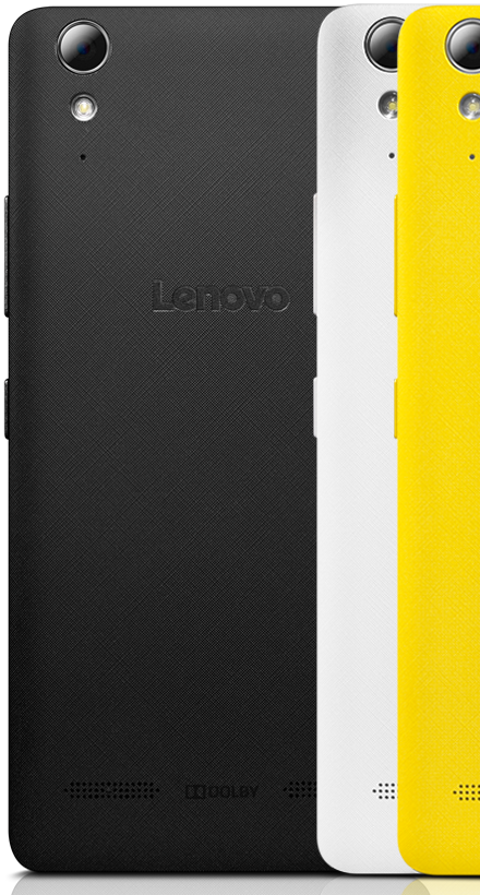 Lenovo Smartphone A6010 Back Feature