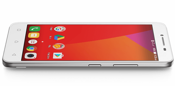 The Lenovo A6600 Plus smartphone has a powerful processor—ideal for running multiple apps.