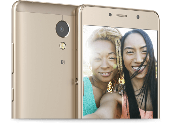 Capture great moments with the front and rear cameras.