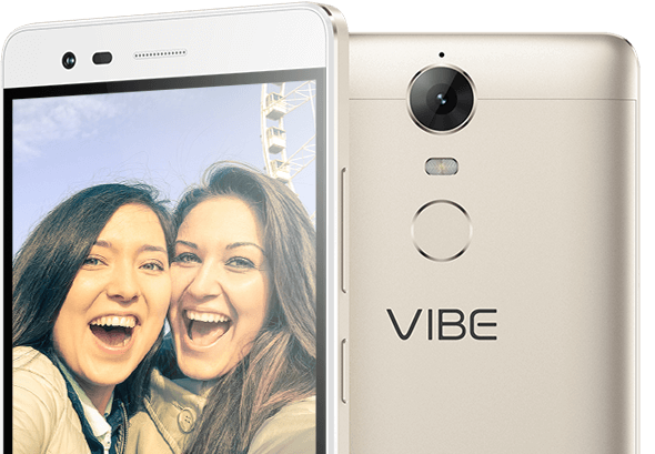 Lenovo Smartphone Vibe K5 Note Front and Rear Camera