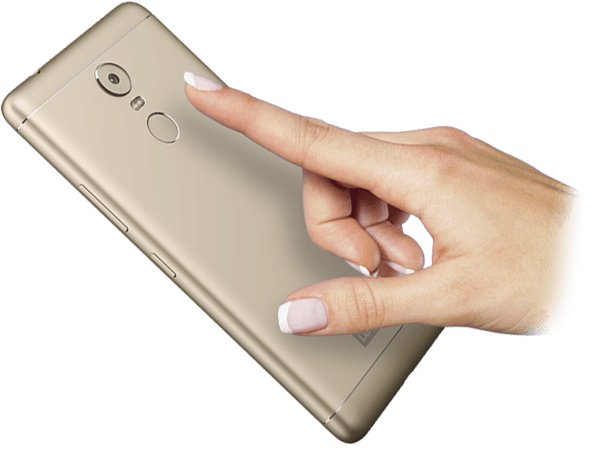 Lenovo Smartphone Vibe K6 Note Color Options Feature