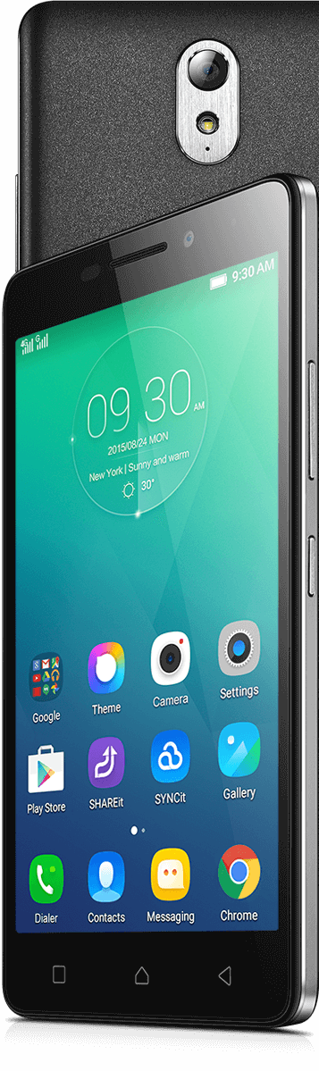 Lenovo Smartphone Vibe P1m Front Detail Feature
