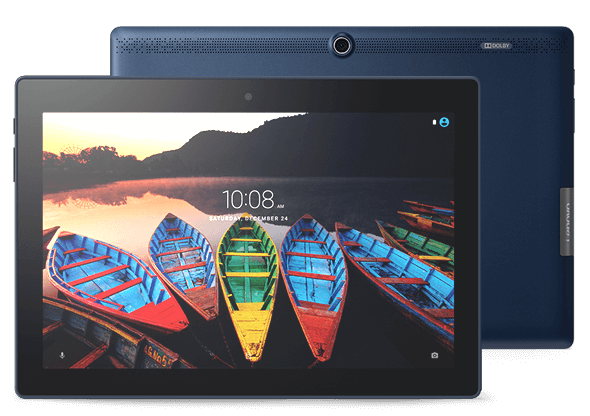 Lenovo Tab 3 10 Plus Front and Rear View