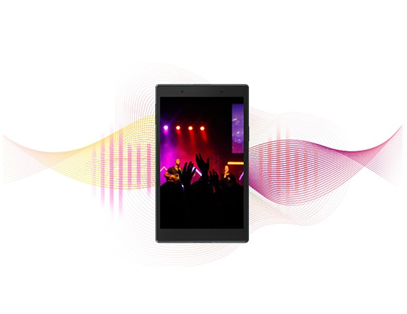 Lenovo Tab 4 8 - Audio That Moves You