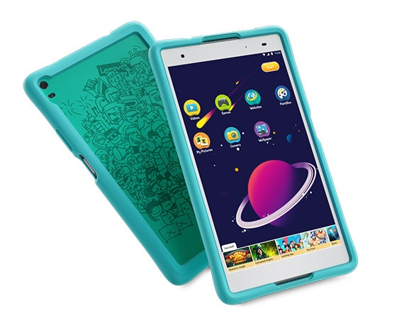 Lenovo Tab 4 8 Plus with protective bumper