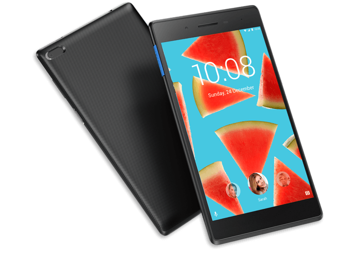 Tab 7 Essential front and back angle views