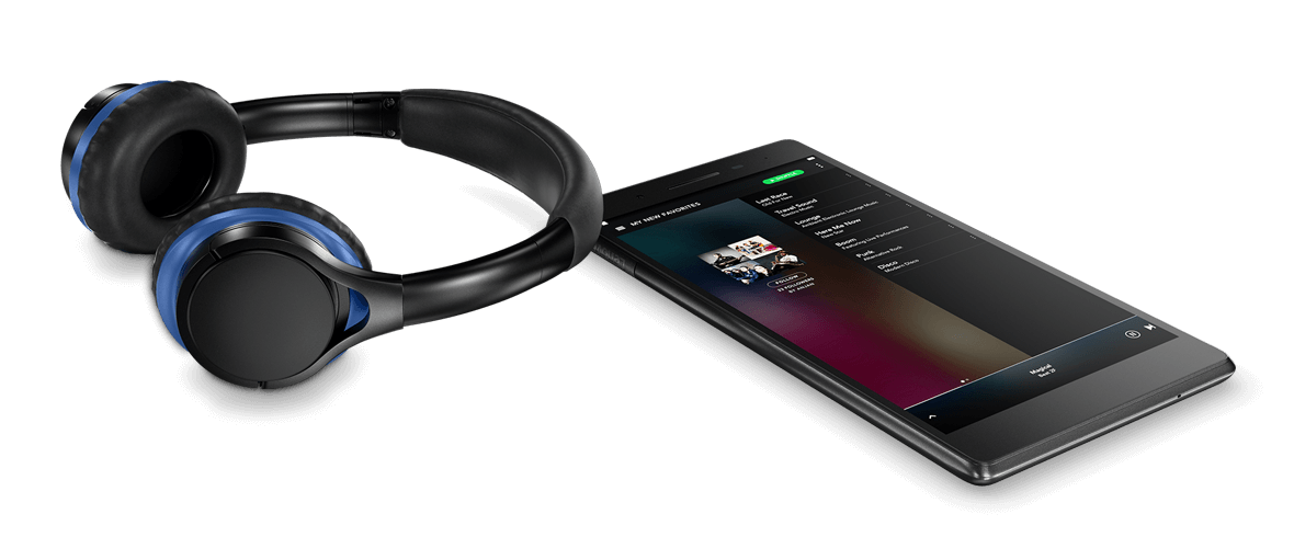 Lenovo Tab 7 and headphones